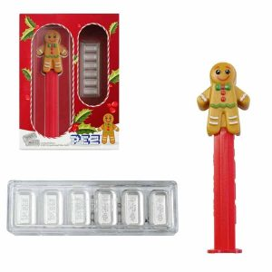 2020 GIngerbread PEZ and Waferd