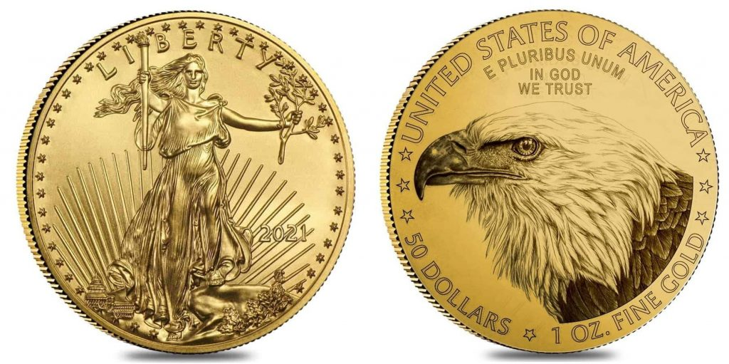 new 2021 gold eagle coin bullion exchanges