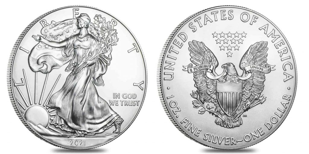2021 Silver eagle coin bullion exchanges