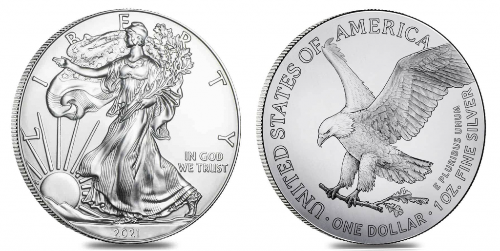 New 2021 Silver Eagle coin Bullion Exchanges