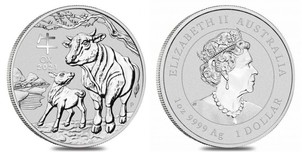 2021 Year of the Ox coin Perth Mint Bullion Exchanges