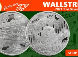 """""""Double Down"""" On BE's Exclusive Wallstreet Silver Rounds"""
