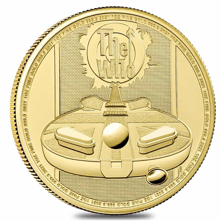 Music Legends The Who gold coin