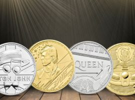 Raise the Curtain for the Royal Mint Music Legends Series!