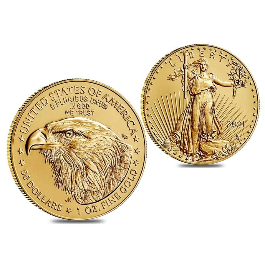 2021 Type 2 American Eagle coin gold