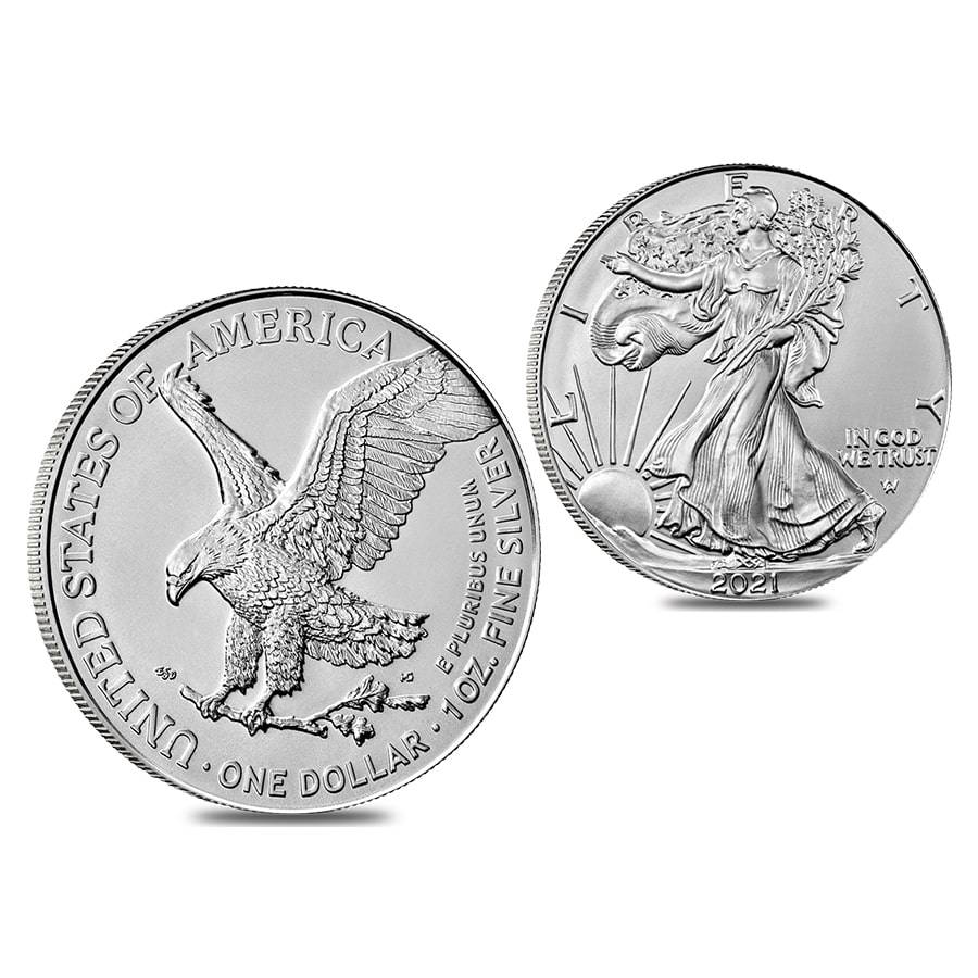 2021 Type 2 American Eagle coin silver