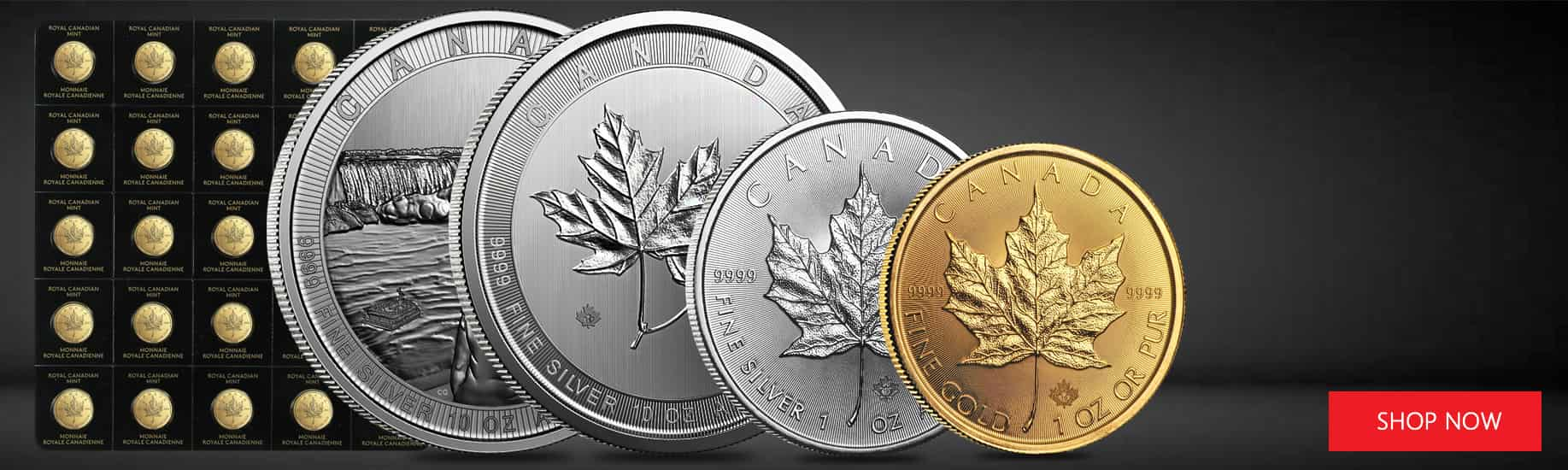 Royal Canadian Mint Coins Bars