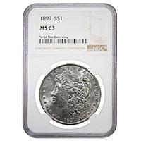 Certified Silver Morgans