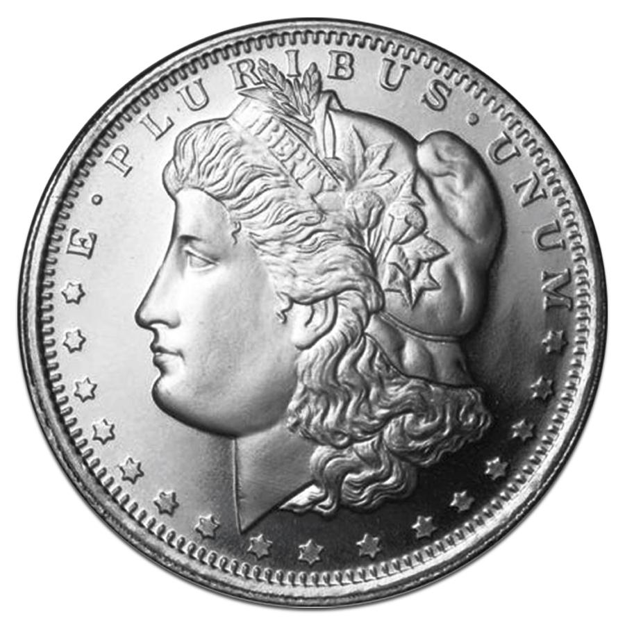 Roll Of 20 Morgan Dollar Design 1 Oz 999 Fine Silver